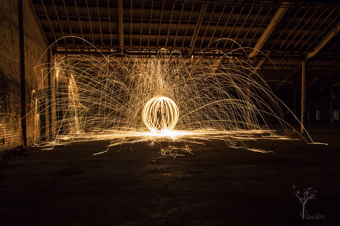 Light Painting, Bradmill Factory
